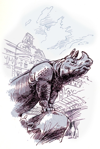 Slate Rhino
