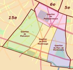 Quartiers 14th