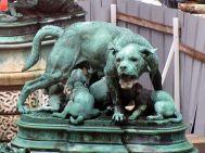 Mastiff with puppies (Rouillard)