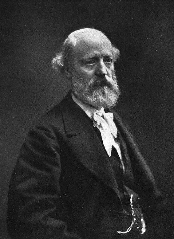 Eugène Viollet-le-Duc (1814-1879), französischer Architekt und Kunsthistoriker. Porträt von Nadar.