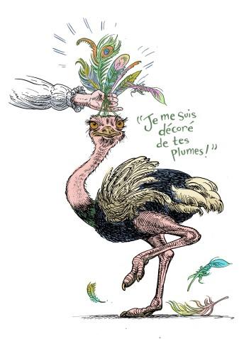L'expression Ostrich
